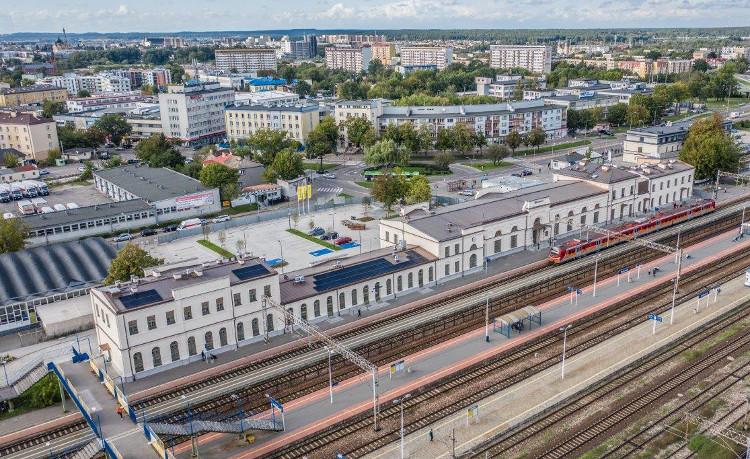 Dworzec PKP SA w Białymstoku