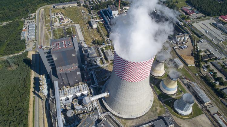 Blok energetyczny w Jaworznie