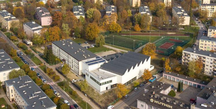 Hala sportowa w Stalowej Woli