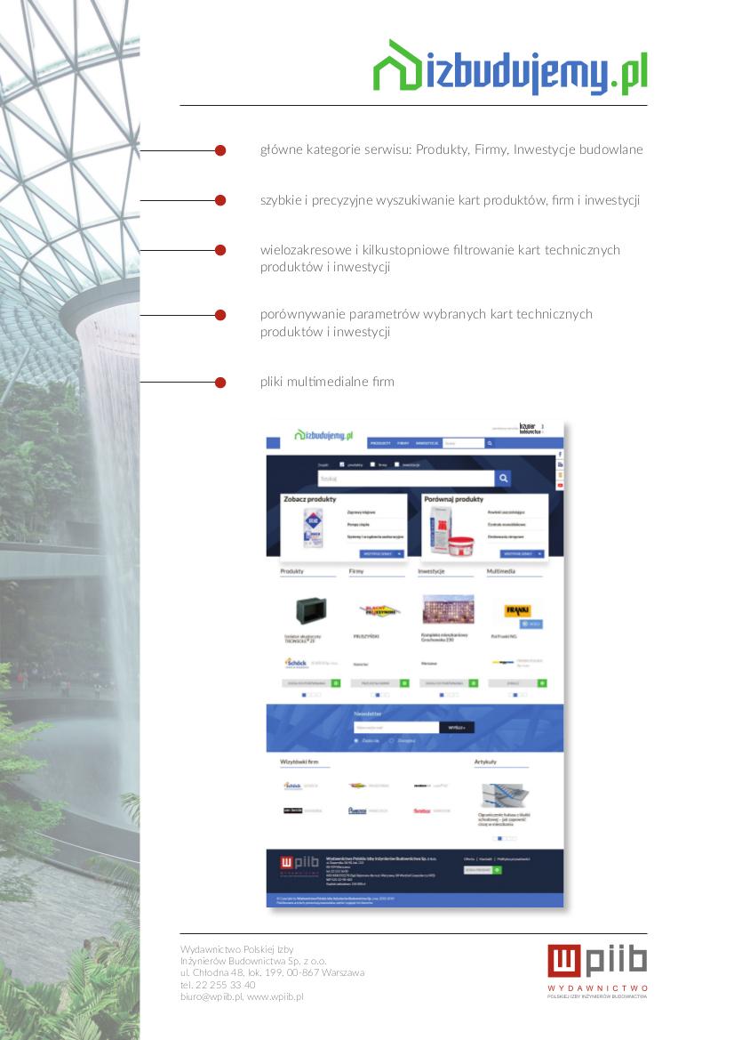 serwis izbudujemy.pl - oferta reklamowa
