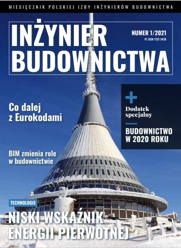 Inżynier Budownictwa 1/2021