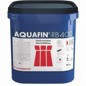 Szybkowiążąca hybrydowa zaprawa uszczelniająca AQUAFIN-RB400