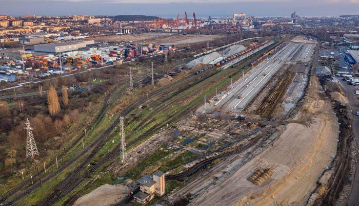 Węzeł kolejowy Gdynia Port