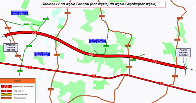 A2 Groszki–Gręzów