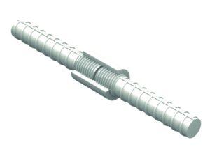 System mechanicznego łączenia prętów FORTEC BF Typ M Ø 20 mm