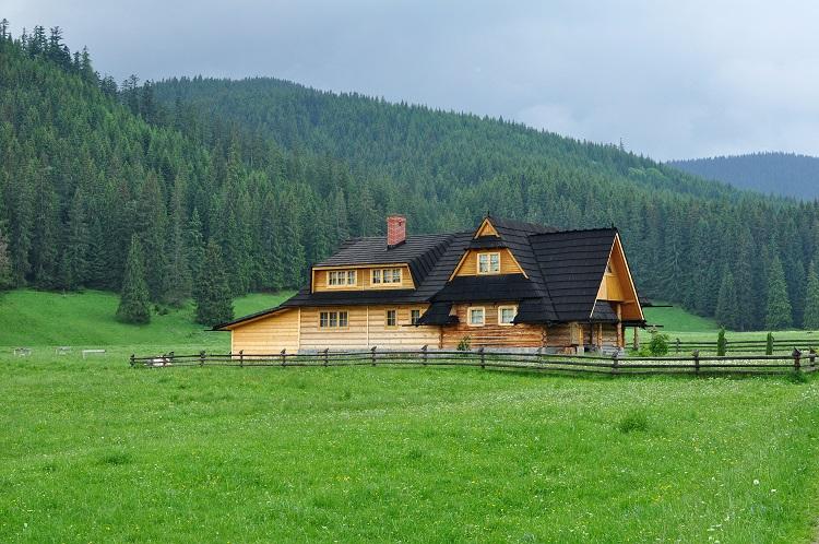budynki drewniane