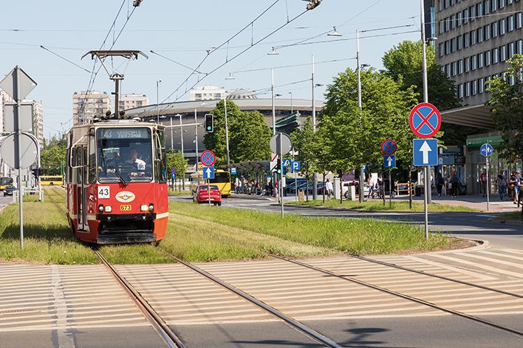 Budowa torowisk tramwajowych