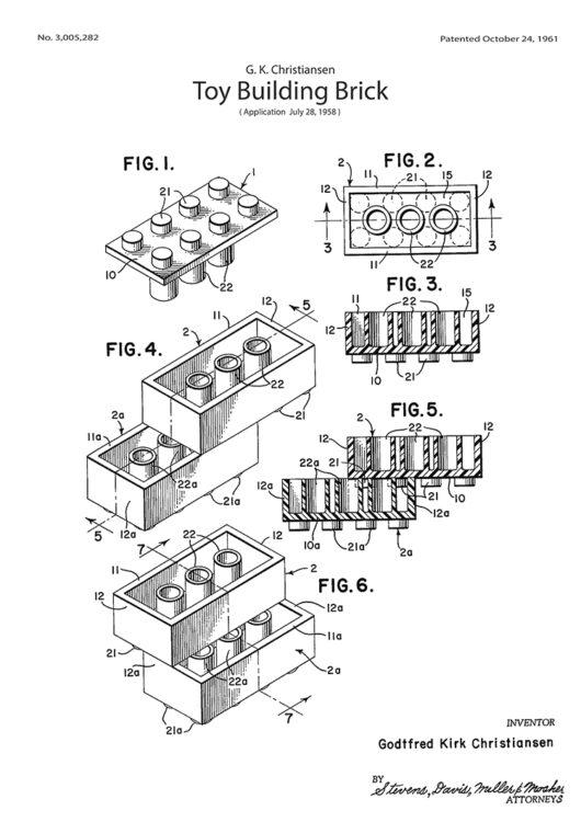 Bloki betonowe Lego