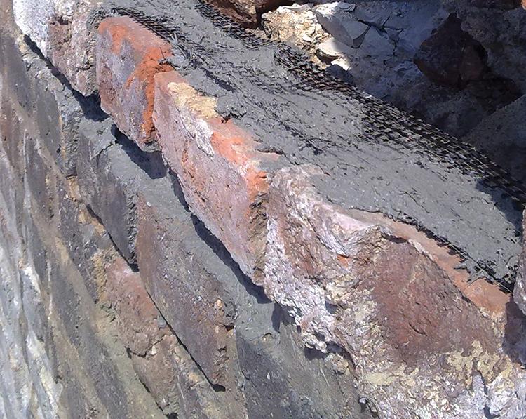 renowacja zabytkowych murów