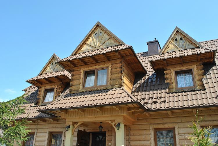 Drewniane budynki