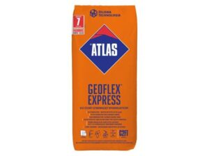 Klej żelowy szybkowiążący wysokoelastyczny ATLAS GEOFLEX EXPRESS
