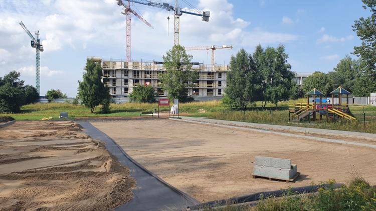 Boisko w Gdańsku Kokoszkach