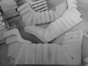 Schody prefabrykowane proste