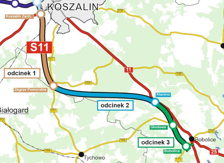 S11 Koszalin–Bobolice