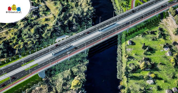 nowe mosty w bydgoszczy