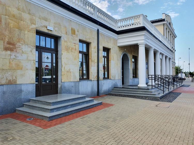 Dworzec w Skarżysku-Kamiennej