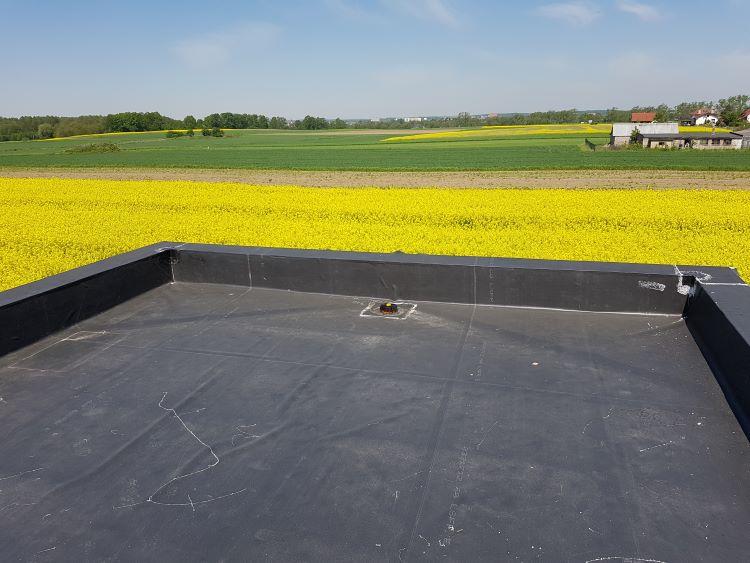 Konstruowanie dachów płaskich