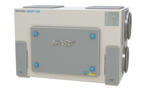 Kompaktowa centrala wentylacyjna z odzyskiem ciepła MISTRAL SMART 400 EC