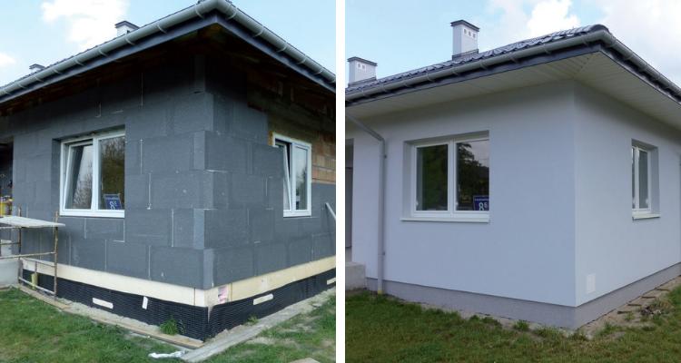 Elewacje domów jednorodzinnych