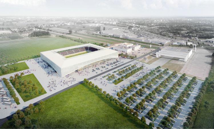 stadion w Opolu